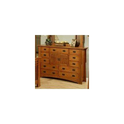 Bungalow 11 Drawer Combo Dresser