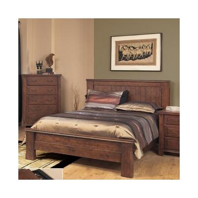 Fergus County Platform Bed Size: King