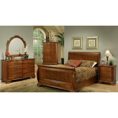 American Heritage Sleigh Customizable Bedroom Set
