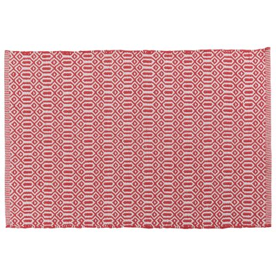 Bazaar Kitchen Mat Color: Red