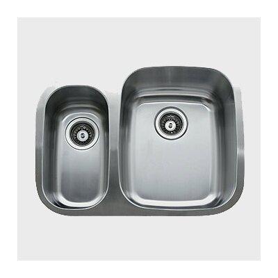 26.25 x 20.5 Double Bowl Undermount Kitchen Sink