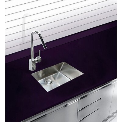 22 x 18 Undermount Single Bowl Stainless Steel Kitchen Sink