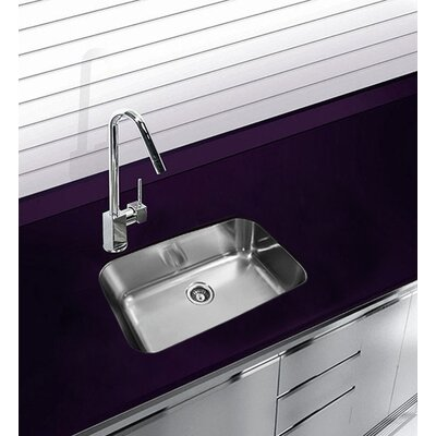 30.5 x 18.5 Undermount Single Bowl Stainless Steel Kitchen Sink