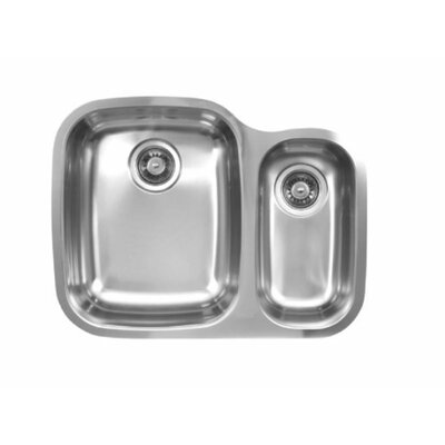 26.25 x 20.5 Double Bowl Undermount Kitchen Sink