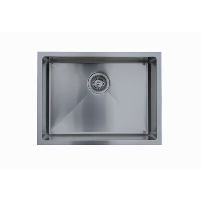 Micro Series 22 x 18 Single Bowl Undermount Kitchen Sink
