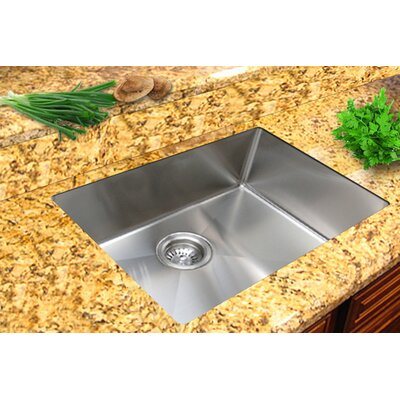 Micro Series 17.75 x 15.38 Single Bowl Undermount Kitchen Sink