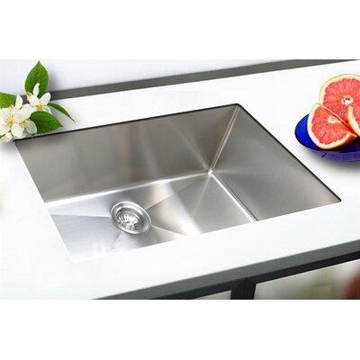 33 x 18 Undermount Single Bowl Stainless Steel Kitchen Sink