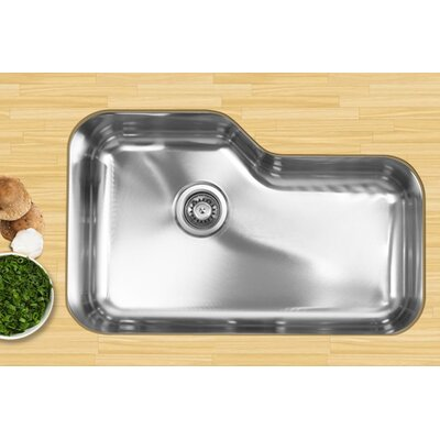 30 x 17.75 Single Bowl Undermount Kitchen Sink