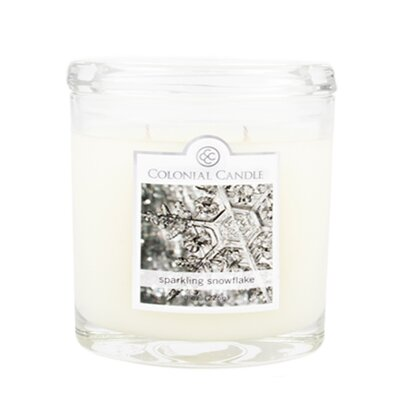 Colonial Candle Sparkling Snowflake Jar Candle - Size: 8 Oz. (Set of 4) at Sears.com