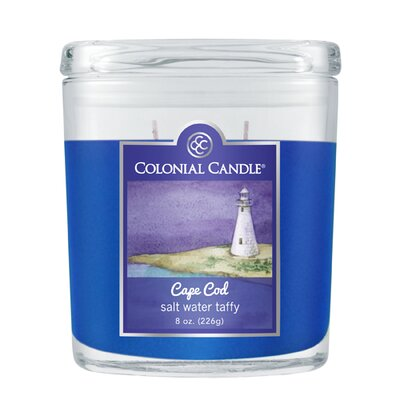 Colonial Candle Salt Water Taffy Jar Candle - Size: 8 Oz. (Set of 2) at Sears.com