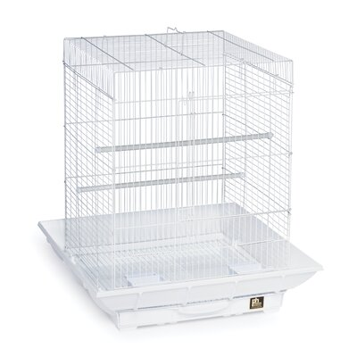 Clean Life Cockatiel Bird Cage Color: White