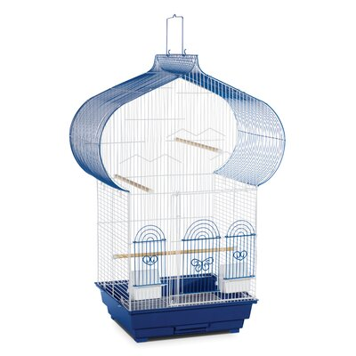 Casbah Parakeet Bird Cage Color: Blue