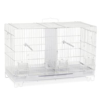 Bird Cage with Nest Box Doors