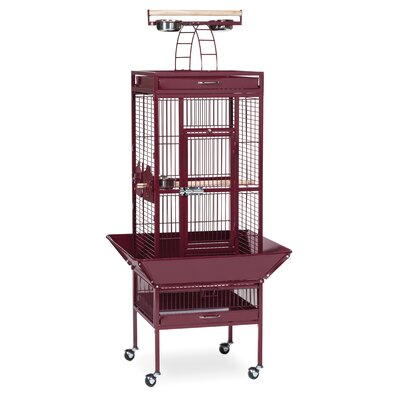 Signature Series Select Small Bird Cage Color: Garnet Red