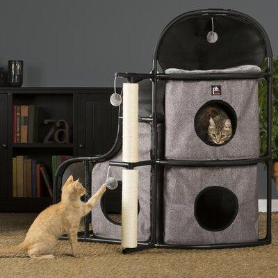 43 Catville Bungalow Cat Condo