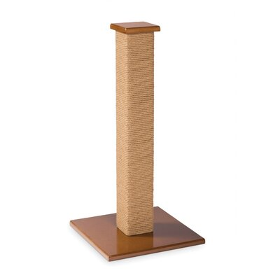 Kitty Power Paws Scratching Post Size: Tall (32 H x 15.75 W x 15.75 D)