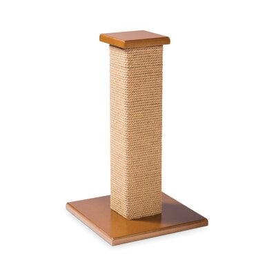 Kitty Power Paws Scratching Post Size: Short (22 H x 15.75 W x 15.75 D)
