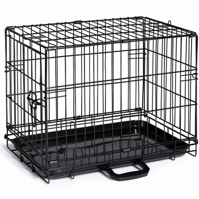 Home On-The-Go Pet Crate Size: XX-Small (15 H x 12.5 W x 19.25 L)