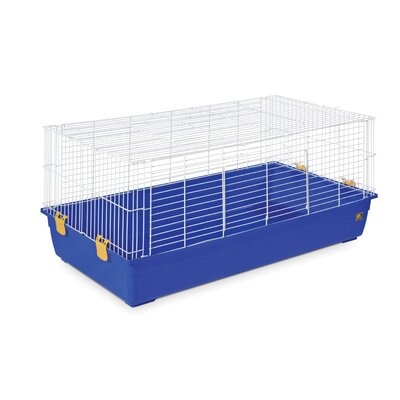 Deep Tub Small Animal Cage Color: Blue