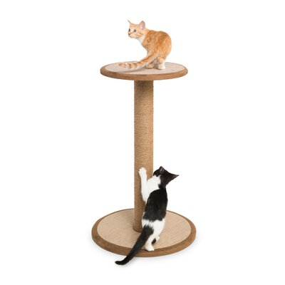 Kitty Power Paws Scratching Post Size: Tall (32 H x 19.63 W x 19.63 D)