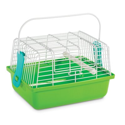 Birds and Small Animals Travel Cage Color: Green