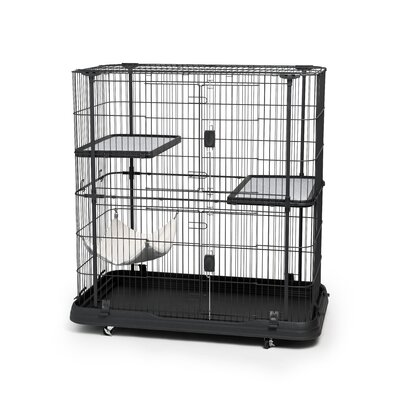 Cat Crate with 3 Level