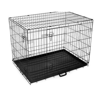Pet Crate Size: Large (32 H x 28.5 W x 42 D)