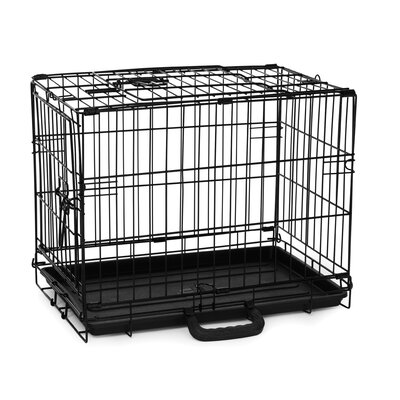 Pet Crate Size: Small (15 H x 12.5 W x 19.5 D)