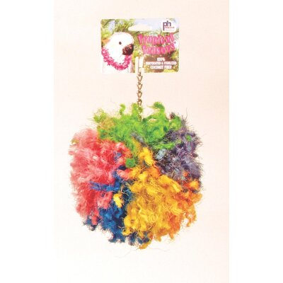 "Prevue Hendryx Tropical Teasers Bird Toy - Color: Krusty, Size: 6"" x 9.5"" at Sears.com"