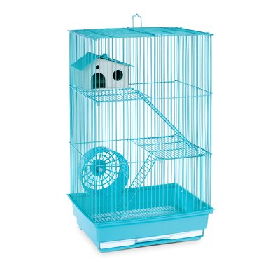 3-Story Small Animal Cage Color: Mint Green