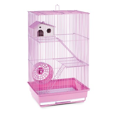 3-Story Hamster/Gerbil Home-Mint Green Color: Lilac