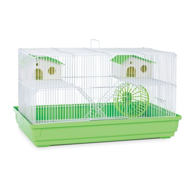 Deluxe Small Animal Cage Color: Lime Green