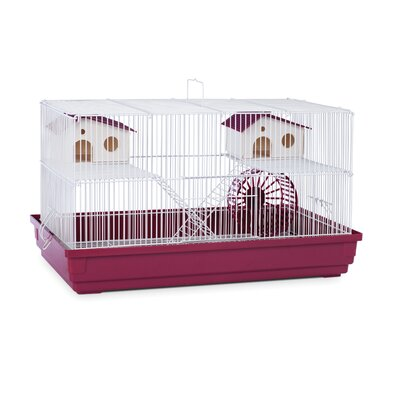 Deluxe Small Animal Cage Color: Bordeaux Red