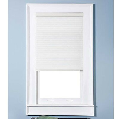 "Top Blinds Arlo Blinds Light Filtering Cordless Cellular Shade - Color: Pure White, Size: 34.5"" W x 72"" H at Sears.com"