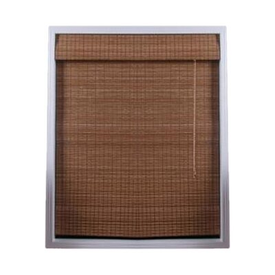 "Top Blinds Arlo Blinds Bamboo Roman Shade in Indian Ginger - Size: 31"" W x 74"" H at Sears.com"