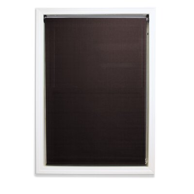 Luther Outdoor Solar Shade Color: Brown/Black, Blind Size: 30 W x 96 L