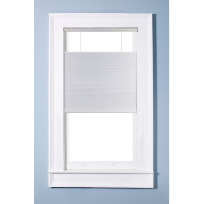Top Down Bottom Up Sheer White Cellular Shade Size: 35.5 W x 60 L