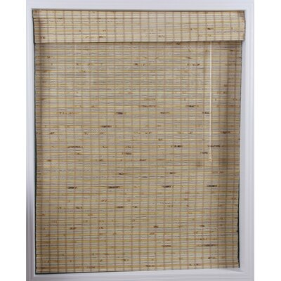 "Top Blinds Arlo Blinds Bamboo Roman Shade in Mandelhi - Size: 43"" W x 74"" H at Sears.com"
