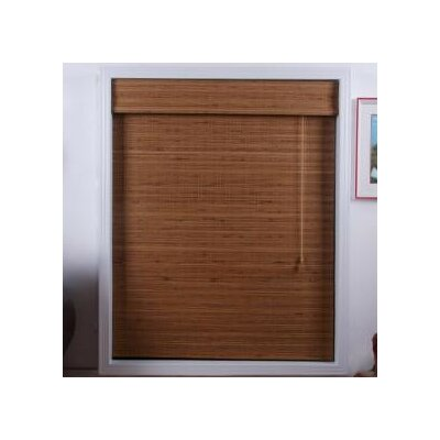 "Top Blinds Arlo Blinds Bamboo Roman Shade in Tuscany - Size: 50"" W x 74"" H at Sears.com"