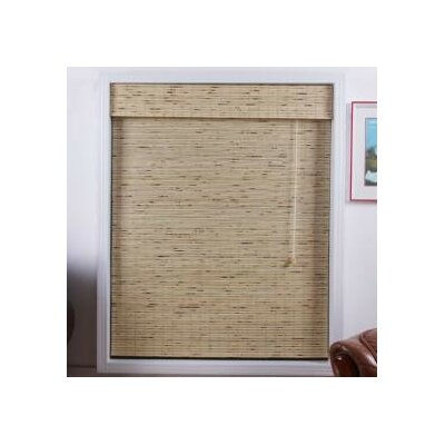 "Top Blinds Arlo Blinds Bamboo Roman Shade in Petite Tropical Rustic - Size: 22"" W x 74"" H at Sears.com"