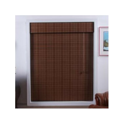 "Top Blinds Arlo Blinds Bamboo Roman Shade in Triben - Size: 52"" W x 74"" H at Sears.com"