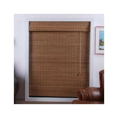 Top Blinds 04tbd Arlo Blinds Bamboo Roman Shade In Indian