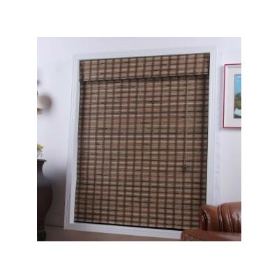 "Top Blinds Arlo Blinds Bamboo Roman Shade in Vera Guinea - Size: 66"" W x 74"" H at Sears.com"