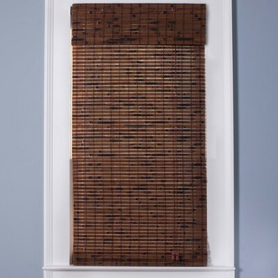 "Top Blinds Arlo Blinds Bamboo Roman Shade in Java Vintage - Size: 24"" W x 54"" H at Sears.com"