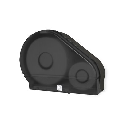 Jumbo Tissue Dispenser Color: Black Translucent