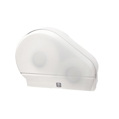 Jumbo Tissue Dispenser Color: White