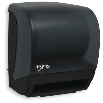 Electronic Touchless Towel Dispenser Color: Black