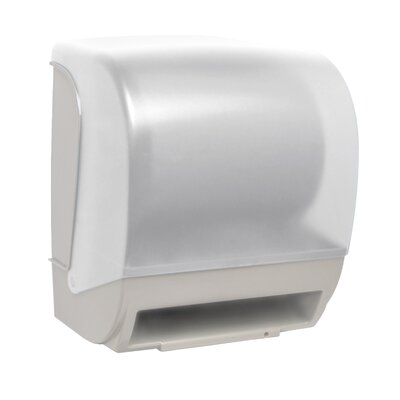 Electronic Touchless Towel Dispenser Color: White