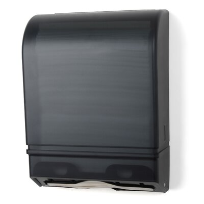 Multi-Fold/C-Fold Towel Dispenser Color: Dark Translucent