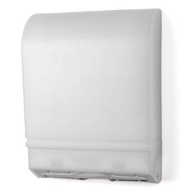 Multi-Fold/C-Fold Towel Dispenser Color: White Translucent